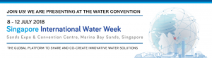 Singapore International Water Week  8-12 July 2018